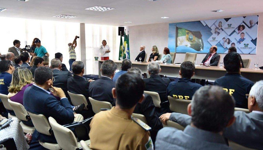 Governo do Estado e Polícia Federal firmam acordo para cooperação no combate ao crime organizado no RN