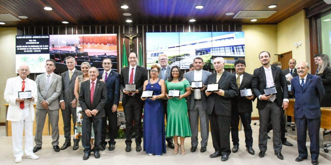 Assembleia Legislativa celebra 70 anos da paróquia de São Sebastião