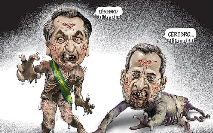 Premiando o ódio: Bolsonaro condecora ministro Weintraub com Ordem ...